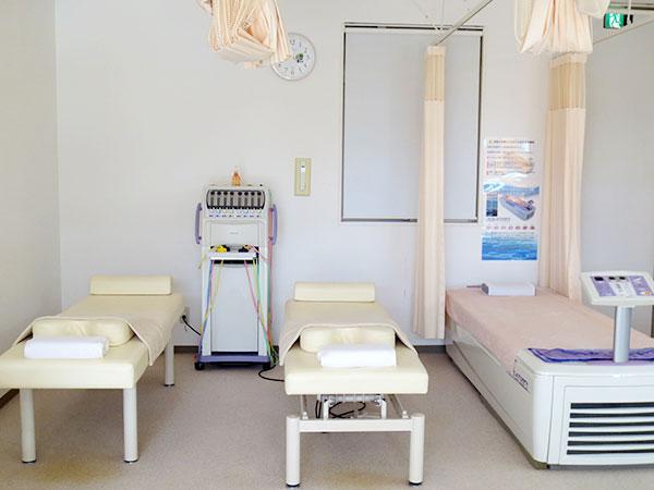 いまい鍼灸整骨院施術室